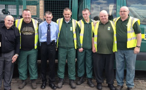 Glasgow binmen go back to charm school